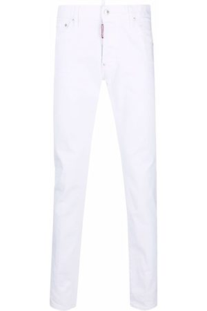 Dsquared2 Logo patch skinny jeans
