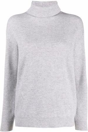 Brunello Cucinelli Ribbed-knit roll-neck jumper