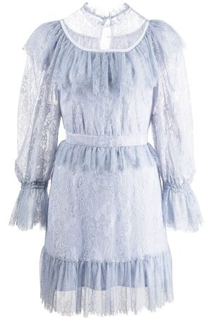 Alice McCall Dames Feestjurken - Lace-detail tiered mini dress