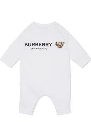 Burberry Logo-print babygrow