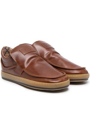PèPè Leroy leather slip-on sneakers