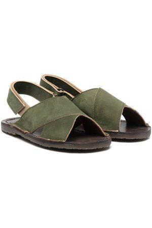 PèPè California crossover sandals