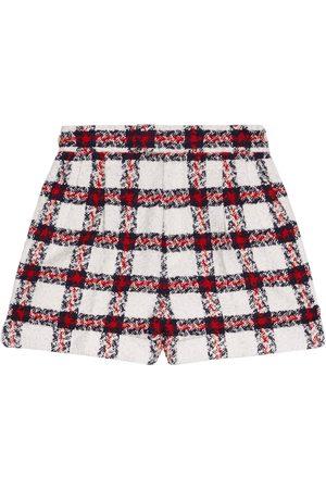Gucci Tweed check shorts