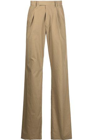 AMIRI Box-pleat straight-leg trousers