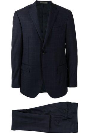 corneliani Heren Pakken - Academy check-pattern suit