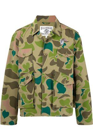 Billionaire Boys Club Heren Leger jassen - Camouflage print jacket
