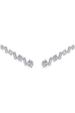 Alinka 18kt white gold Ana diamond ear cuffs