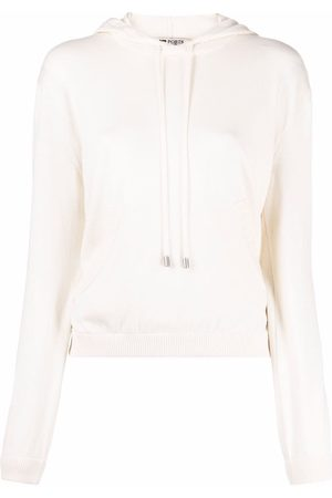 PORTS 1961 Pullover cashmere-cotton hoodie