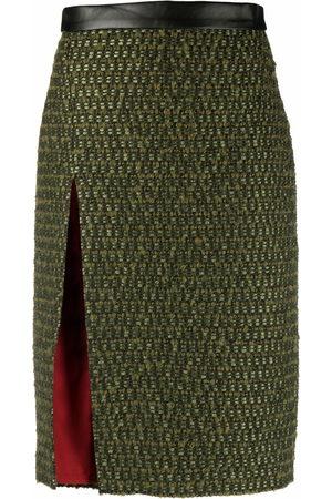 Dsquared2 Dames Midi rokken - Tweed midi skirt
