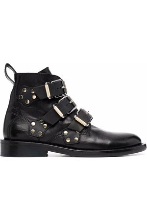 Zadig & Voltaire Laureen buckled ankle boots