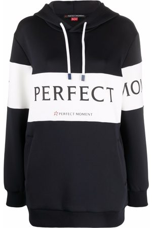 Perfect Moment Vonn logo-stripe hoodie