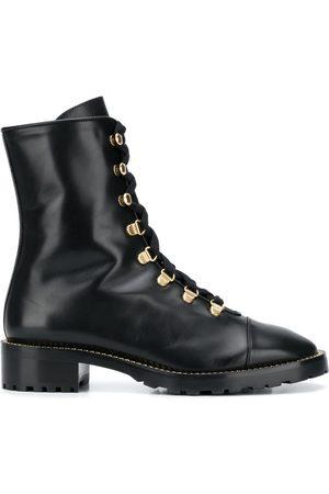 Stuart Weitzman Kolbie lace-up boots