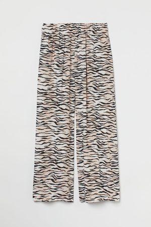 H&M Cropped pull-on broek