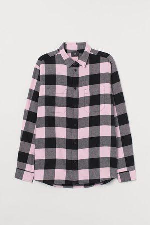 H&M Hemd van katoenflanel