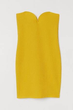 H&M Strapless jurk