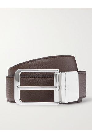 DUNHILL Heren Riemen - 3.5cm Reversible Full-Grain Leather Belt