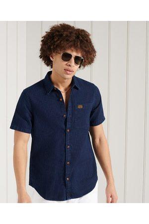 Superdry Heren Overhemden - Workwear overhemd met korte mouwen