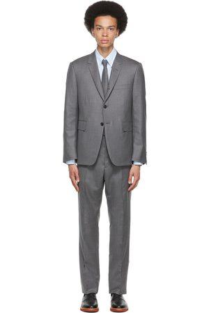 Thom Browne Grey Classic 120s Suit