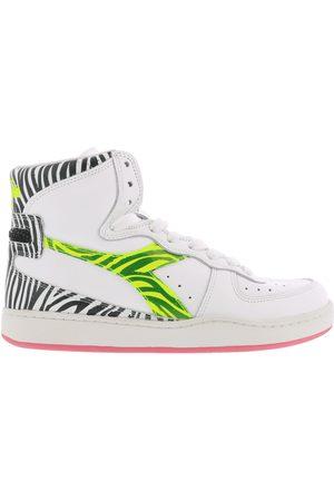 Diadora Dames Sneakers - Mi basket high animalier