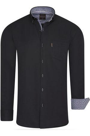 Cappuccino Italia Heren Overhemden - Heren overhemd borstzakje