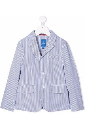 FAY KIDS Striped single breasted blazer