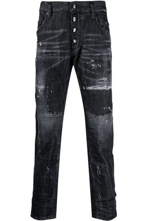 Dsquared2 Icon distressed-effect skinny jeans