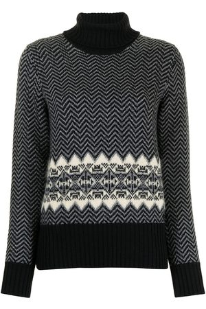 Gucci Zigzag pattern wool jumper