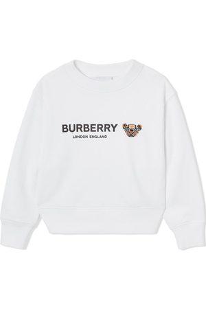 Burberry Thomas Bear motif sweatshirt