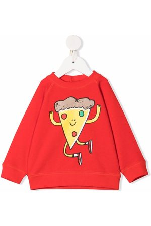 Stella McCartney Kids Pizza print sweatshirt