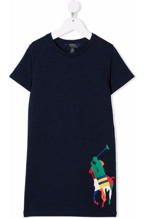 Ralph Lauren Kids Logo-printed T-shirt dress