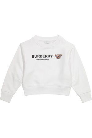 Burberry Meisjes Sweaters - Logo cotton sweatshirt