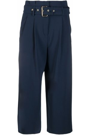 Michael Kors Belted cropped trousers
