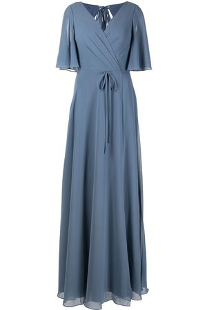 Marchesa Notte Bridesmaids Floral-embroidered off-shoulder gown