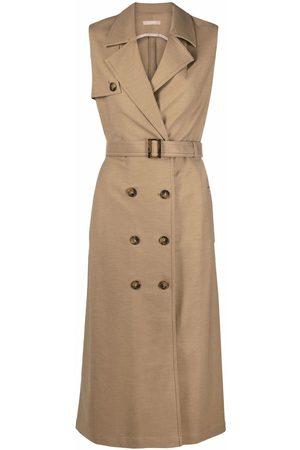 12 STOREEZ Sleeveless trench dress