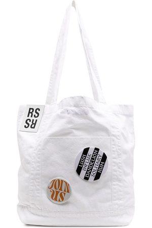 RAF SIMONS Badge-detail tote bag