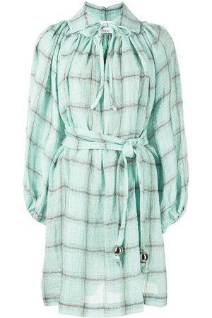 Lisa Marie Fernandez Poet linen-blend mini dress