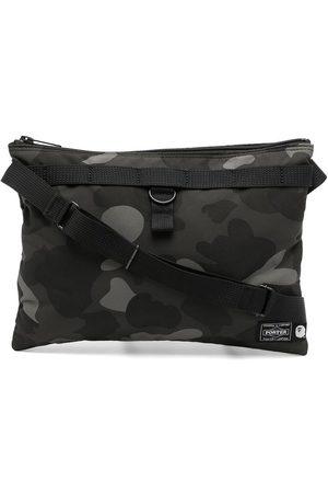 A Bathing Ape Camouflage-print shoulder bag