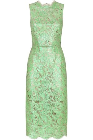 Dolce & Gabbana Semi-sheer lace dress