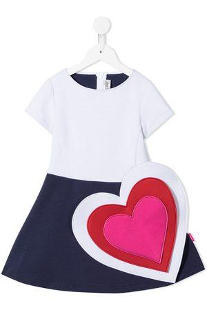 Simonetta Heart-patch dress