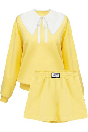 Sleeper Dames Sweaters - Diana Cotton Blend Sweat Suit