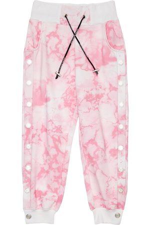 Balmain Tie Dye Cotton Sweatpants