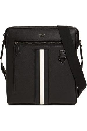 Bally Heren Schoudertassen - Logo Stripe Leather Crossbody Bag