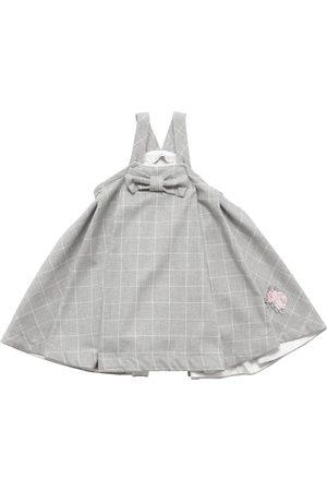 MONNALISA Check Cotton Sleeveless Dress