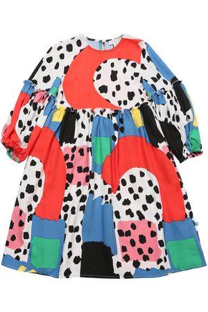 Stella McCartney Meisjes Geprinte jurken - Printed Viscose Twill Dress