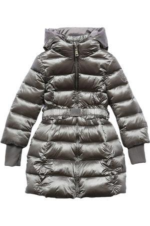 MONNALISA Meisjes Donsjassen - Hooded Nylon Puffer Coat