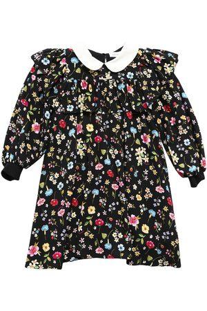 MONNALISA Flowers Print Milano Dress