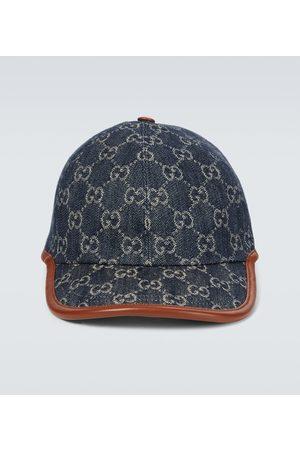 Gucci Heren Petten - GG denim baseball cap