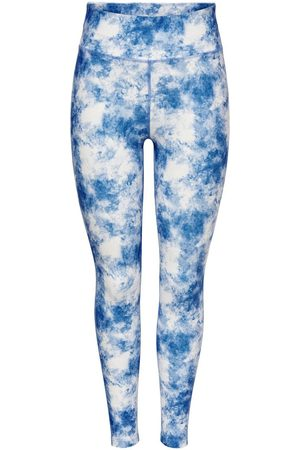 ONLY Tie Dye Training Tights Dames White