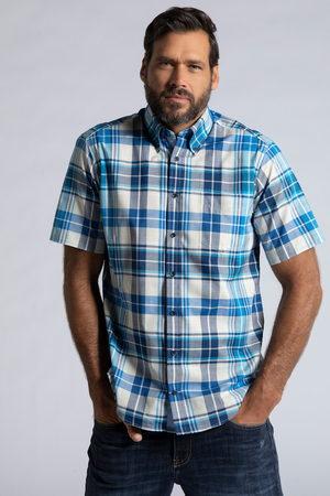JP 1880 Grote Maten Geruit Overhemd, Heren