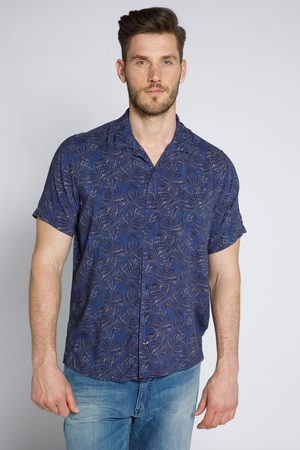 JP 1880 Grote Maten Viscose Overhemd, Heren